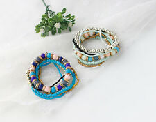 National Wind Hot European and American Bohemian New Beaded Bracelet 1PC