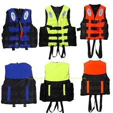 #QZO Polyester Adult Swimming Buoyancy Aid Sailing Foam Life Jacket Vest + Wh