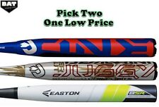 Pick Two DeMarini Easton Senior 1.21 SSUSA Slowpitch Softball Bat Combo Bat Pack