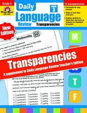 Daily Language Review Transparencies, Grade 3 by Evan-Moor (2009, Paperback)