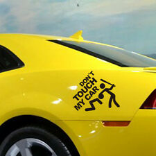 Reflective Funny Don't Touch My Car Graphics Car SUV Fender Window Sticker NEW