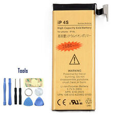iDeal 2680mAh Capacity Replacement Battery for Apple iPhone 4 4S & 8in1 Tools