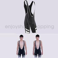Men's Quick-Dry Mountain Riding Bicycle Racing Bike Bib Shorts with 3D Padded