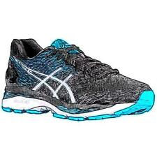 UNKNOWN ASICS® GEL-Nimbus 18 - Men's Running Shoes (BK/WT/Island BL - Width:Med