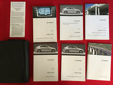 2008 Lexus IS350 / IS250 Factory Owners Manual Set and Case