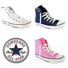 NEW Converse All Star Hi Top Unisex Trainers Mens Women Canvas Shoes - ALL Sizes
