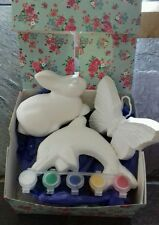 Paint your own pottery set ,gift,present