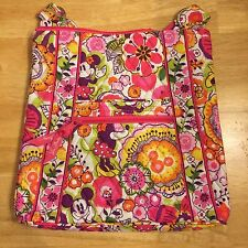 NWT Disney Vera Bradley Bouncing Bouquet Large Hipster Exact Bag Mickey & Minnie