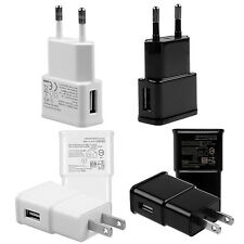 USB Port EU/US Plug Wall Home Travel AC Power Charger Adapter For Samsung iPhone