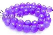 """SALE Big 10mm Purple Faceted Round agate beads strands 15"""" -los502 Free shipping"""