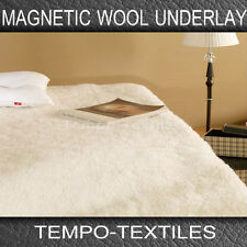 Premium Therapy Aussie Magnetic Wool Fitted Under blanket underlay - Pain relief
