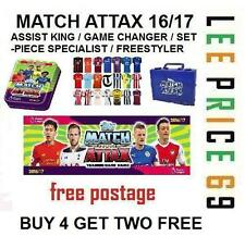 MATCH ATTAX 16/17 CHOOSE ASSIST KINGS / GAME CHANGERS / SET-PIECE / FREESTYLERS