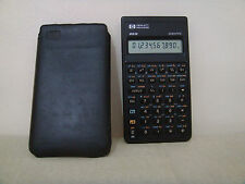 Hewlett Packard HP 20s Scientific Calculator and COVER--- TESTED WORKING!