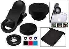Universal 3/1 Clip On Fish Eye + Wide Angle+ Macro Lens for iPhone 7 Android (F)