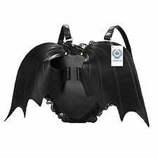 HiFiDirect Black Bat Heart Backpack Women Girls Fashing Backpack Wing Gothic Got