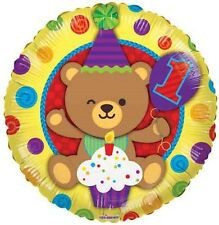 "18"" 1st Birthday Bears Foil Balloon (First)"