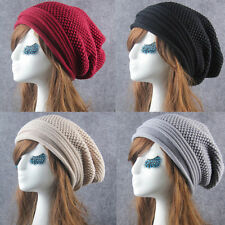 Women Knit Winter Slouch Warm Men Hip-Hop Beanie Hat Baggy Unisex Ski Cap Skull