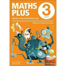 NEW Maths Plus NSW Aus Curriculum Ed Mentals & Homework Book 3 Revised Ed 2016 b