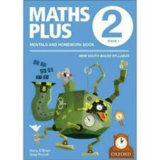 NEW Maths Plus NSW Aus Curriculum Ed Mentals & Homework Book 2 Revised Ed 2016 b