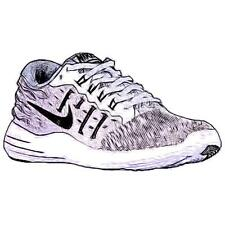 Nike LunarStelos - Women's Running Shoes (Pure Platinum/BK/Cool GY/WT Width:Med