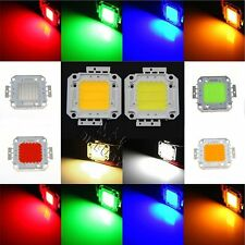 10W 20W 30W 50W 100W RGB/White High Power LED Lamp Chip Flood Light Top Quality