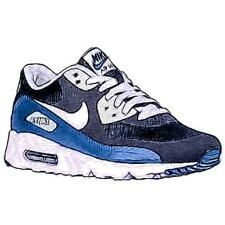 Nike Air Max 90 Ultra - Men's Running Shoes (Obsidian/WT/Coastal BL/Wolf GY Wid