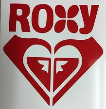 "Roxy Logo Vinyl Window Decal Sticker 4 1/4"" Choose Your Color"