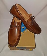 Mens NEW GBX Henley Brown Dress Casual Slip-On Leather Loafer Shoes Size 9 10 11