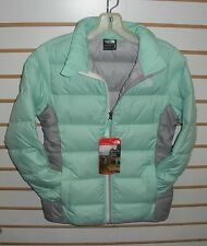THE NORTH FACE GIRLS ANDES DOWN WINTER JACKET- CHQ7- ICE GREEN-XS,S,M,L,XL
