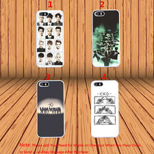 EXO Korean Boy Band Music Pop Hard Phone Case Cover for iPhone & Samsung Model