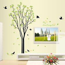 Tree Bird Quote Removable Wall Decal Mural Home Art DIY Decor Wall Sticker HK