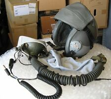 Flight Suits Ltd. Gibson & Barnes Flight Fighter Pilot Helmet & Oxygen Mask