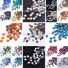 Bulk Lot 500pcs SS20 5mm Hotfix Iron On Flatback Crystal Rhinestones Carfts DIY