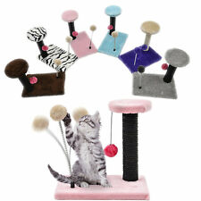 Pet Cat Tree Condo Scratcher Post Kitty Kitten Play House Activity Center Tower