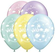 "11"" Adorable Ark Latex Balloons (Baby Boy, Baby Girl, New Baby, Baby Shower)"
