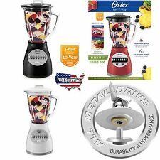Oster 14-Speed Accurate Blender Countertop 200 Durable Stainless Steel 6 Cup NEW