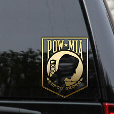 POW MIA Decal Sticker Support Military Army Marines Window Bumper American Flag