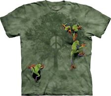 New The Mountain Peace Tree Frogs T Shirt