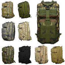 3P Military Tactical Molle Assault Travel Backpack Rucksack Trekking Hiking Bag