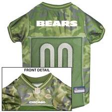 CHICAGO BEARS Dog Jersey * CAMO * XS-XL NFL Football Camouflage Puppy Pet Shirt