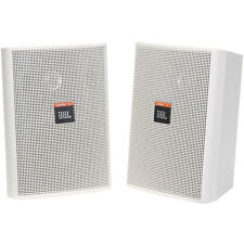 JBL Control 23 Pair High Output Two-Way Indoor / Outdoor Loudspeaker Black White