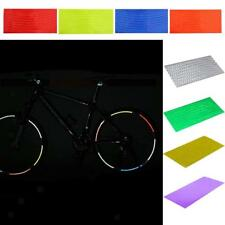 8 Pcs Bike Bicycle Wheel Reflective Stickers Rim Stripe Tape Decals