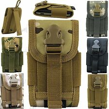 Universal Army Tactical Bag Mobile Cell Phone Belt Loop Hook Case Pouch Holster
