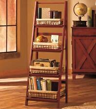 Ladder Shelf  and/or  Set of 4 Lined wire Baskets Kitchen Living Room Storage
