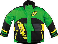 Arctiva Youth Green/Yellow Comp Insulated Snowmobile Jacket