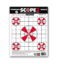 """Scope 2 Sight In 9""""x12"""" Paper Shooting Targets"""