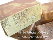 Ginger Lemongrass Soap -Handmade Soap - Vegan Soap - Soap Gift