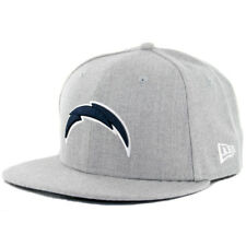 """New Era 59Fifty San Diego Chargers """"HGY DN WH"""" Fitted Hat (Grey Navy) Cap"""