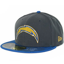 New Era 59FIFTY 2015 Gold Collection SD Chargers Fitted Hat (Grey Powder) Cap
