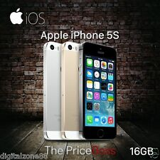 "Apple iPhone 5S/6/6s 16-128GB GSM ""Factory Unlocked"" Smartphone NO finger sensor"